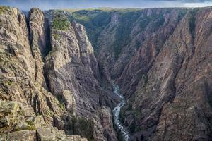 Colorado, Gunnison National Park. Scenic in Black Canyon by Jaynes Gallery