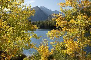 Colorado, Rocky Mountain National Park. Autumn Along Bear Lake and Longs Peak by Jaynes Gallery