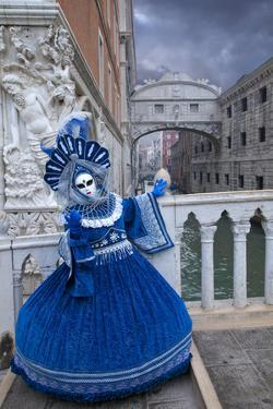 Elaborate Costume for Carnival Festival, Venice, Italy by Jaynes Gallery