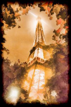 Europe, France, Paris. Abstract of Eiffel Tower. by Jaynes Gallery
