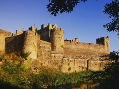 Ireland. Medieval Cahir Castle and River Suir by Jaynes Gallery