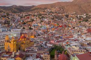 Mexico, Guanajuato. Panoramic Overview of City by Jaynes Gallery