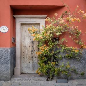 Mexico, San Miguel De Allende. Colorful Doorway. San Miguel De Allende by Jaynes Gallery