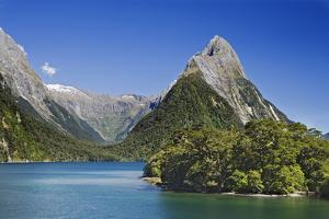 Mitre Peak, Milford Sound, South Island, New Zealand by Jaynes Gallery