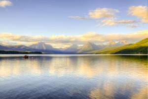 Montana, Glacier National Park. Lake Macdonald Landscape by Jaynes Gallery