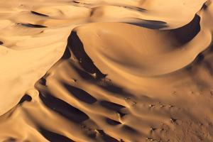 Namibia, Namib-Naukluft Park. Aerial of desert landscape. by Jaynes Gallery
