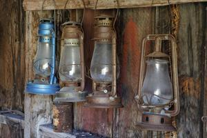 Old Fire Station Lanterns, Bodie State Historic Park, California, USA by Jaynes Gallery