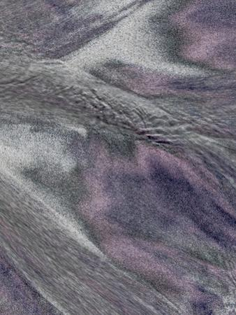 USA, California, Big Sur. Patterns in beach sand. by Jaynes Gallery