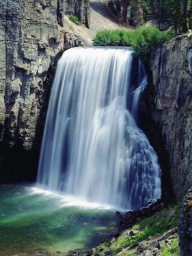 USA, California, Sierra Nevada Mountains. Rainbow Falls by Jaynes Gallery