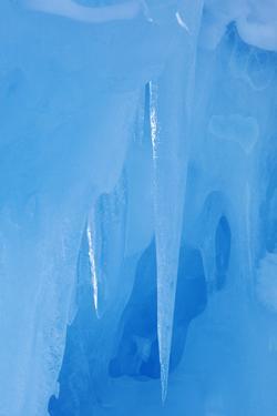 USA, California, Sierra Nevada Range. Detail inside ice cave. by Jaynes Gallery
