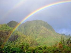 USA, Hawaii, Kauai. Hawaiian Rainbow by Jaynes Gallery