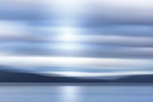 USA, Washington State, Seabeck. Hood Canal at sunrise. by Jaynes Gallery