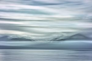 USA, Washington State, Seabeck. Motion blur seascape - Washington, Seabeck, Hood Canal by Jaynes Gallery