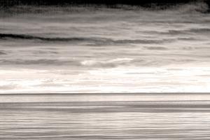 USA, Washington. Sunrise on Strait of Juan de Fuca. by Jaynes Gallery