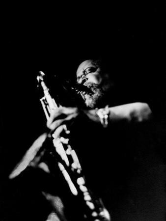 Jazz Musician, Gene Ammons Playing Saxophone