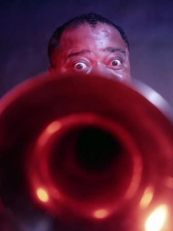 Jazz Musician Louis Armstrong
