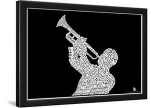 Jazz Songs Text Poster