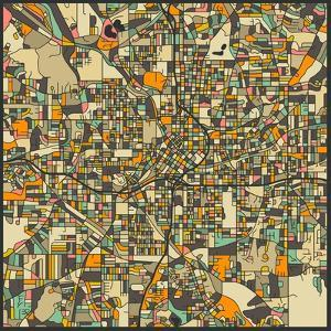 Atlanta Map by Jazzberry Blue