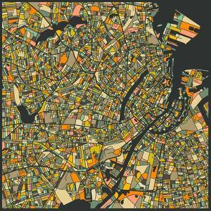 Copenhagen Map by Jazzberry Blue