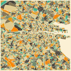 Dublin Map by Jazzberry Blue