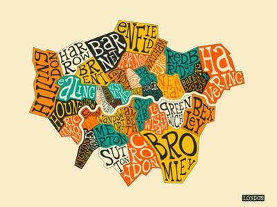 London Boroughs by Jazzberry Blue