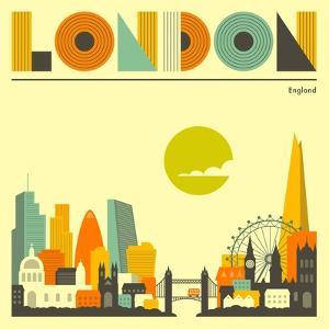 London Skyline by Jazzberry Blue