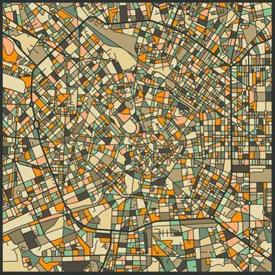 Milan Map by Jazzberry Blue
