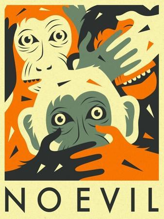 No Evil by Jazzberry Blue