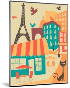 Paris Café by Jazzberry Blue