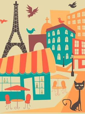 Paris Café by Jazzberry Blue