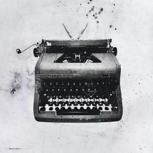 Black Typewriter by JB Hall