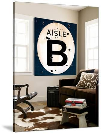 Blue Aisle B by JB Hall