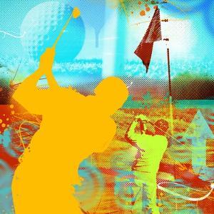Golf 1 by JB Hall