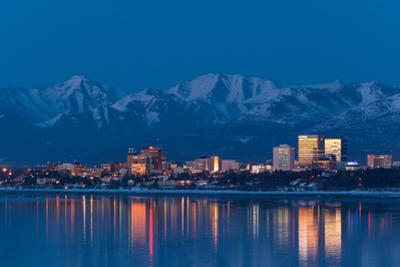 Anchorage Skyline by JCB5754