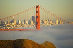 Golden Bridge in San Francisco by Jcbonassin