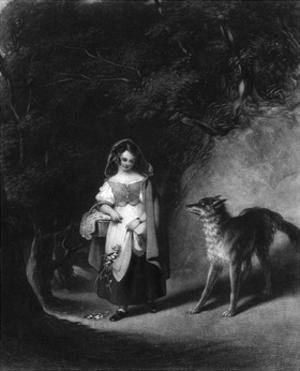 Little Red Riding Hood by JE Coombs