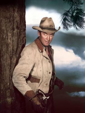 Je suis un Aventurier THE FAR COUNTRY by AnthonyMann with James Stewart, 1955 (photo)