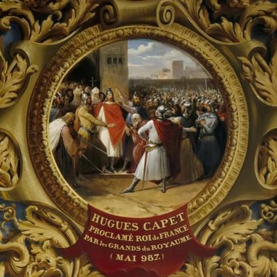 Hugh Capet Proclaimed King by the Nobles in May 987