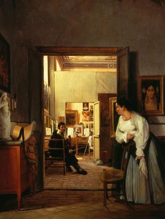 Ingres's Studio in Rome