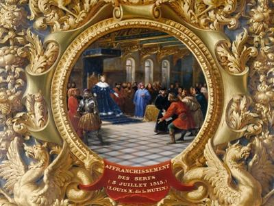 Louis X the Mischievous Emancipates the Serfs in 1315