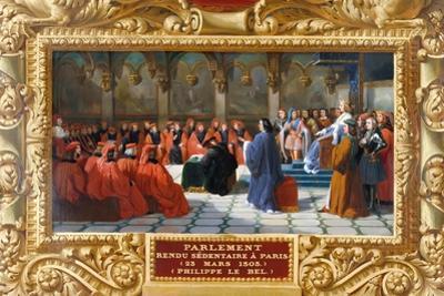 Philip IV the Fair Establishes the Parliament in Paris in 1303