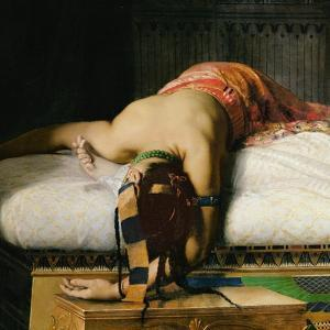 Death of Cleopatra, 1874 (Detail) by Jean-Andre Rixens