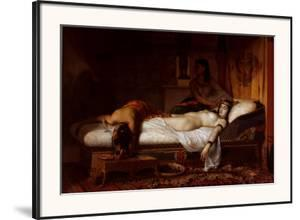 The Death of Cleopatra by Jean André Rixens