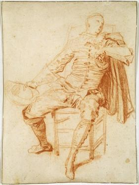 'Actor of the Comédie Italienne (Crispin)', early 20th century by Jean-Antoine Watteau