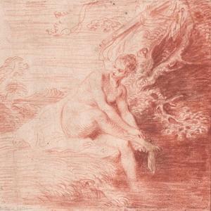 Diana Bathing, C. 1716 by Jean Antoine Watteau