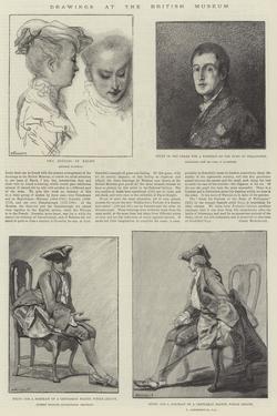 Drawings at the British Museum by Jean Antoine Watteau
