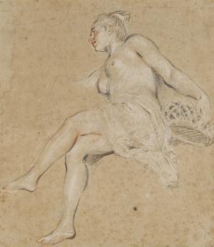 Flore by Jean Antoine Watteau