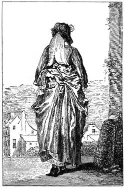 French Costume by Jean-Antoine Watteau