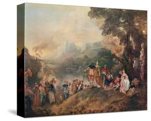 L'Embarquement pour Cytere, c.1684-1721 by Jean Antoine Watteau