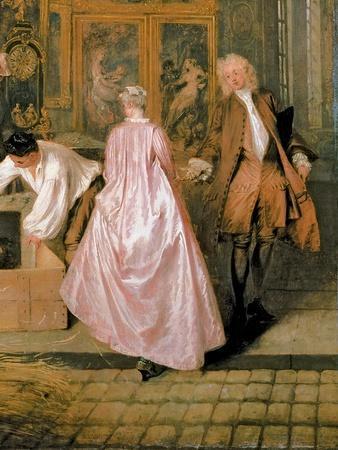 L'Enseigne De Gersaint, 1720